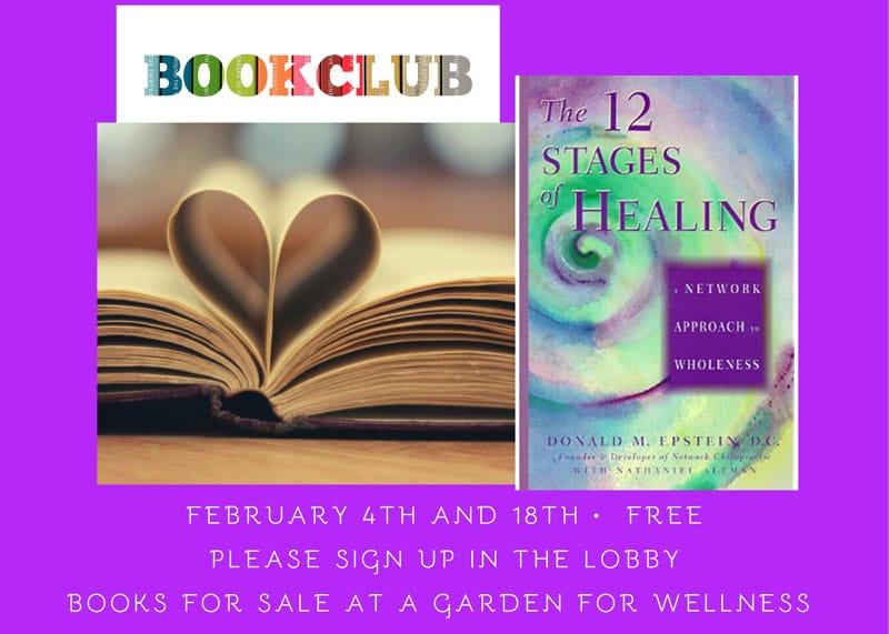 Book Club at A Garden For Wellness