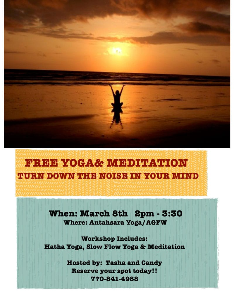 Free Yoga and Meditation at A Garden For Wellness