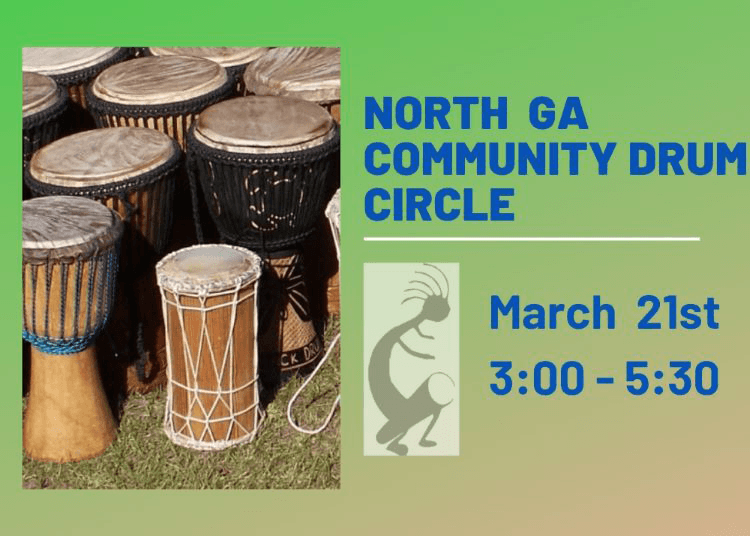 North Ga Drum at A Garden For Wellness