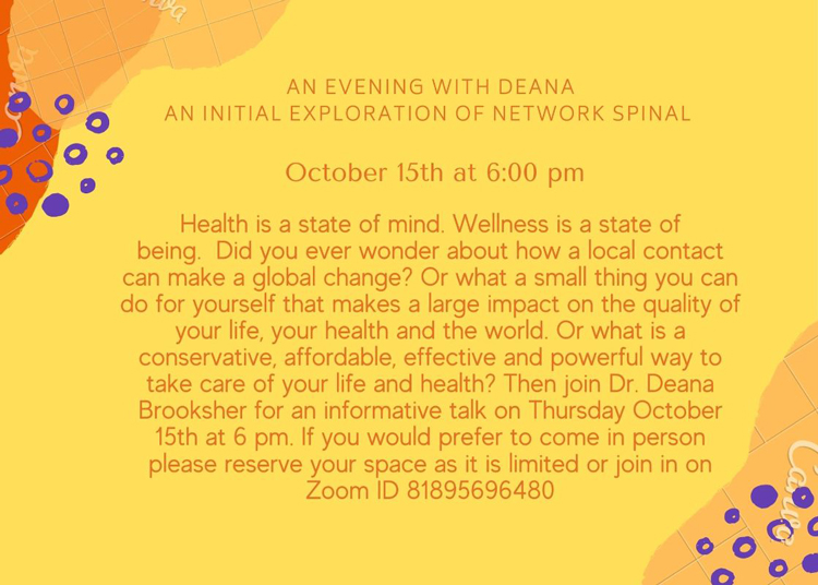 Network Spinal at A Garden For Wellness
